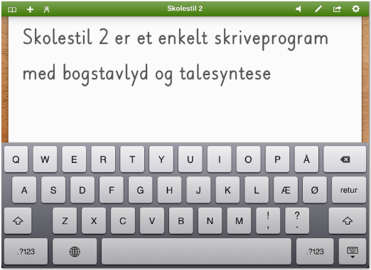 Skolestil 2 screenshot